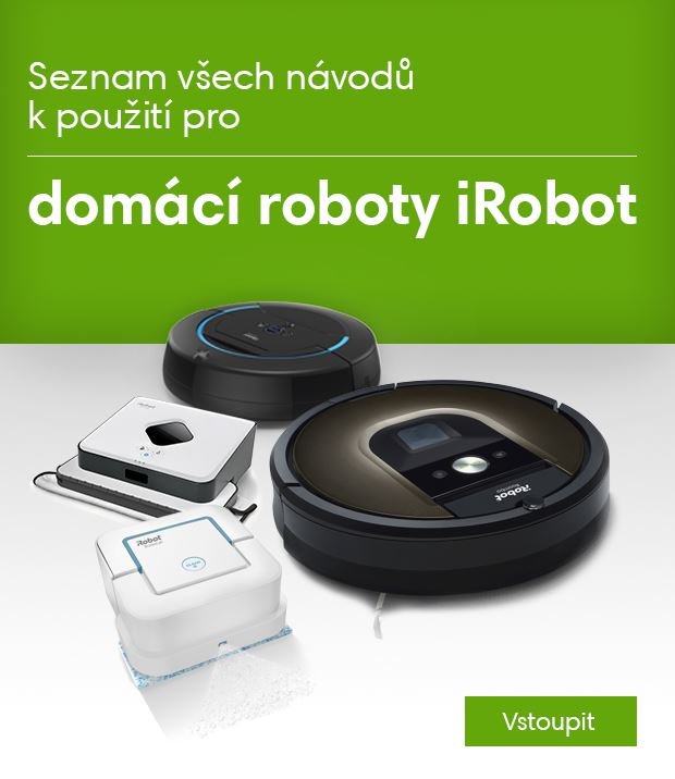 Návody iRobot banner